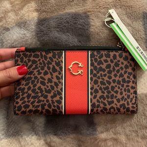 New cheetah print wallet C wonder
